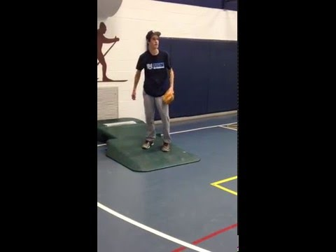 Garrett Gagnon Sidearm Pitching Bullpen Work