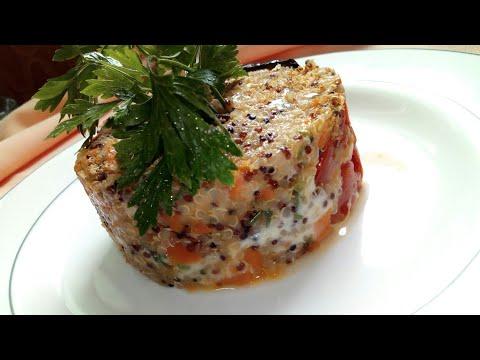 trois-couleurs-quinoa-gratin-💖👍😃احلى-كرتان-بالكينوا