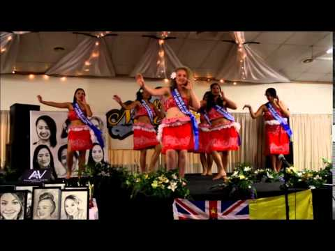 Miss Niue Aotearoa Intro Dance