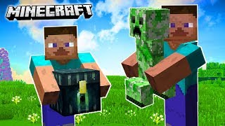 HOW TO PICK UP ANY MOB IN MINECRAFT!