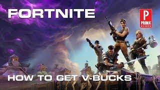 Fortnite - How to Get V-Bucks
