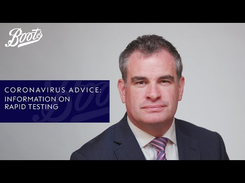 Coronavirus advice | What is rapid testing? | Boots UK