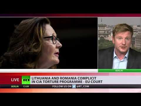 Lithuania & Romania complicit in CIA torture program, EU court rules