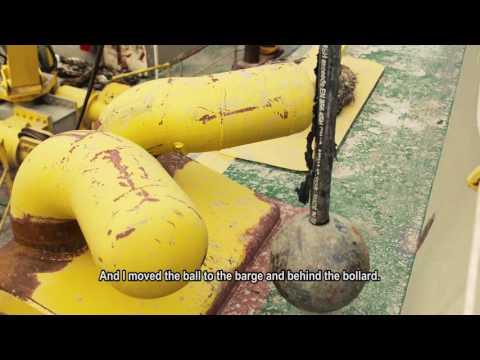Safety Award 2017 - Nominee 2: Boskalis - Mooring Actuator