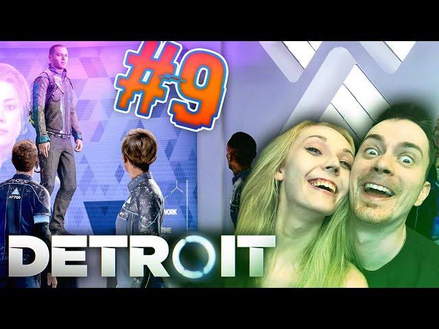 ANDROIDÍ VZPOURA! Detroit: Become Human CZ s Míšou #9