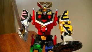 Samurai Gattai DX Shinken-Oh Review