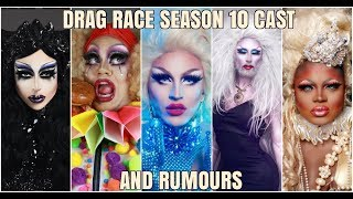 DRAG RACE SEASON 10 CASTING AND RUMOURS