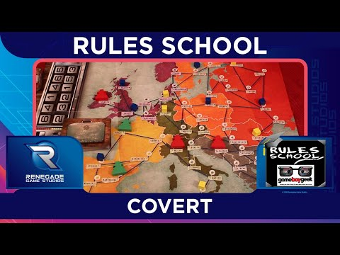 Covert Rules School How To Play with the Game Boy Geek