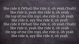 Mihty Jeremih Ty Dolla Ign Ride It HQ Lyrics.mp3