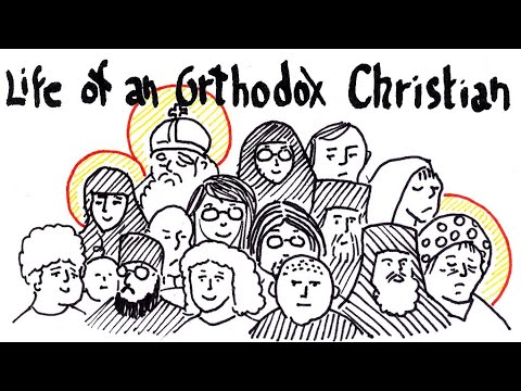 Life of an Orthodox Christian - A Brief Depiction (Pencils & Prayer Ropes)