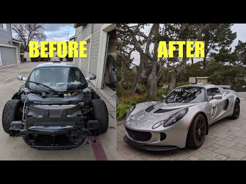 🔧 Rebuilding WRECKED Lotus Exige + replaced the motor then blow up the motor AGAIN! FML