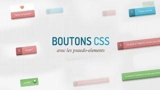 Tutoriel CSS : Boutons CSS3