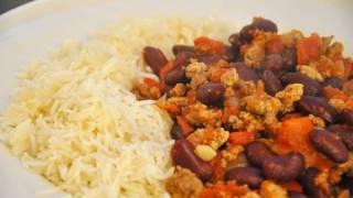 Recettes pour la coupe du monde de foot : MEXIQUE, le Chili con carne!