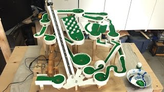 Mini Golf Marble Machine Build, Part 8 (Green Paint)