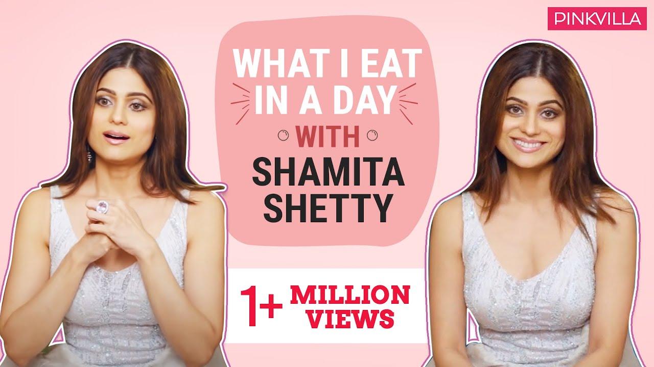 Shamita Shetty: What I eat in a day | Pinkvilla | Bollywood | S01E08