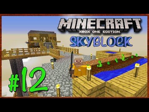 Minecraft Xbox: Lets Play - SkyBlock Survival [Part 12] (TU27) XBOX EDITION