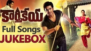 Karthikeya ( కార్తికేయ ) Movie || Full Songs Jukebox || Nikhil, Swathi Reddy