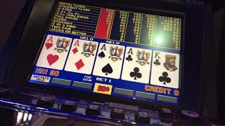 "vedeo poker play machines """