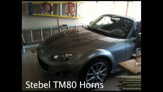 NC Miata Stebel TM80/2 Magnum Twin Horns Upgrade / Replacement