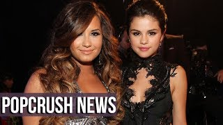 #selenagomez finally opened up about why she stayed quiet on her friend #demilovato's overdose for so long. if you're new, subscribe! → http://bit.ly/subscri...