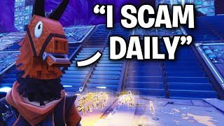 Scammer regrette d'essayer de ME arnaquer! 😂👌 (Scammer Get Scammed) Fortnite Save The World