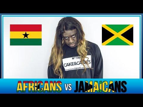 [TRIXX] AFRICANS vs JAMAICANS