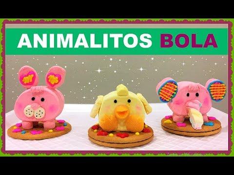 ¡ANIMALITOS BOLA! De bombón, parte 2