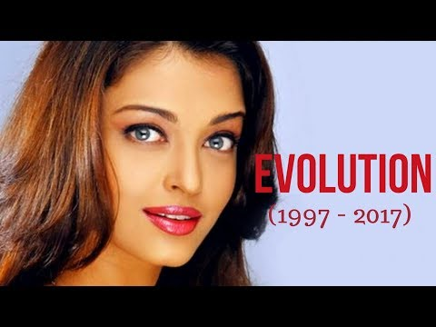 Aishwarya Rai Evolution (1997 - 2017)