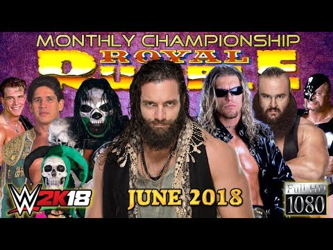 Download WWE 2K18: 30-Man ROYAL RUMBLE [JUNE 2018] ► Monthly Championship