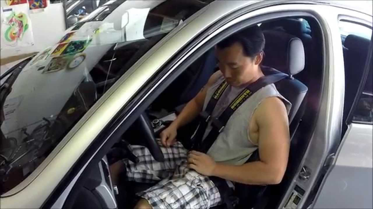 Schroth Quick Fit Pro Harness Installation - BMW E90 - YouTube