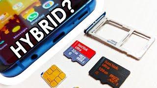 Samsung Galaxy S9 Whats a Hybrid Sim ?