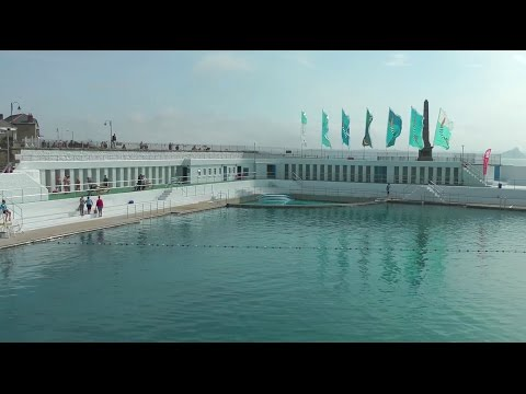 THE JUBILEE POOL, PENZANCE - REFURBISHED AND MAGNIFICENT