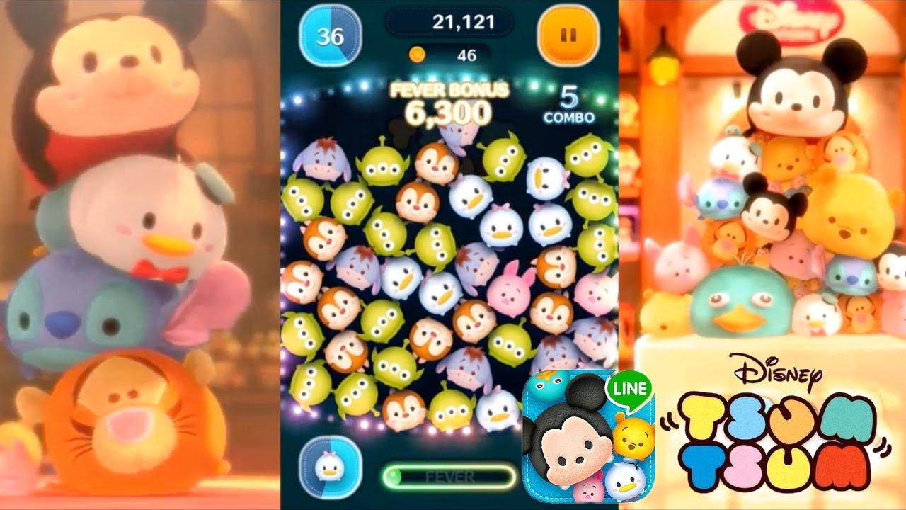 Let's Play Line: Disney Tsum Tsum - First 15 Mins & In-App Purchases
