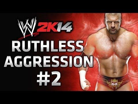 WWE 2K14 30 Years of Wrestlemania - Ruthless Aggression Gameplay Walkthrough Part 2