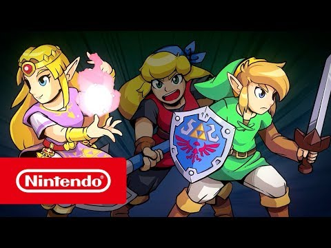Cadence of Hyrule – Crypt of the NecroDancer Featuring The Legend of Zelda - Tráiler de presentación