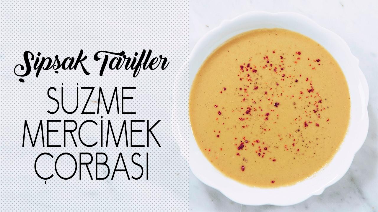 Mercimek Çorbası Süzme Videosu