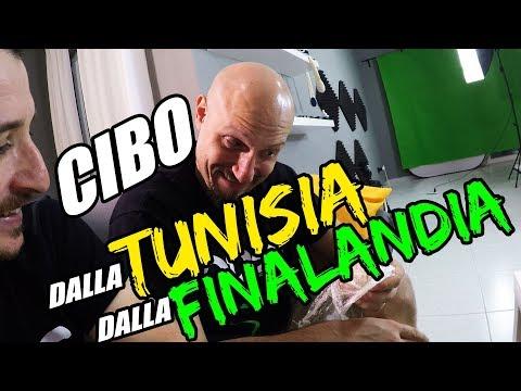 CIBO DALLA TUNISIA E DALLA FINLANDIA