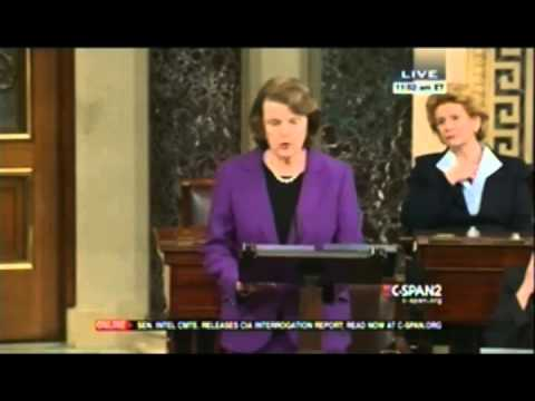 CSPAN-Sen Feinstein discusses Senate Intel Torture Report
