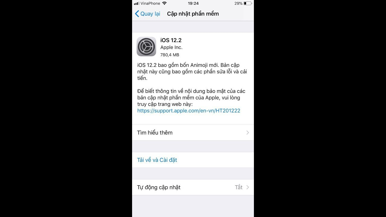 Cách Xóa Bỏ Cập Nhật Hệ Điều Hành iOS 12.2 Và Tắt Tự Động Cập Nhật iOS   HaLinh IT