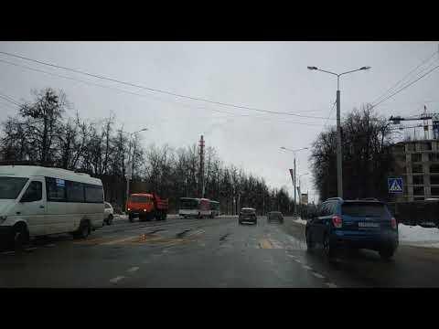 . Город Домодедово. Поездка на автомобиле