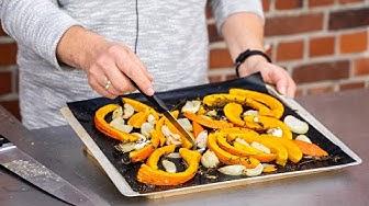Kürbis im Ofen gebacken: So wird es gemacht| Der Bio Koch