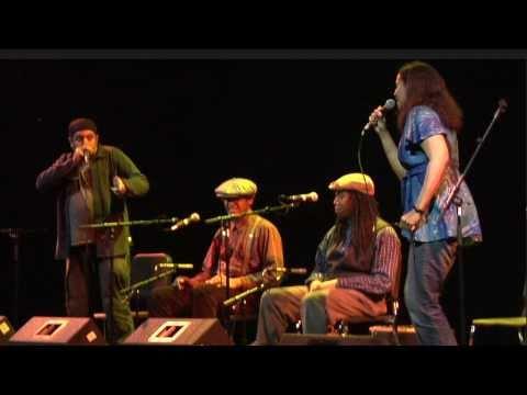 """Carolina Chocolate Drops LIVE """"Mouth Music"""" (featuring Adam Matta)"""