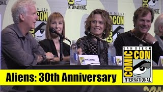 Aliens | 2016 Comic Con Full Panel (James Cameron, Sigourney Weaver, Bill Paxton)