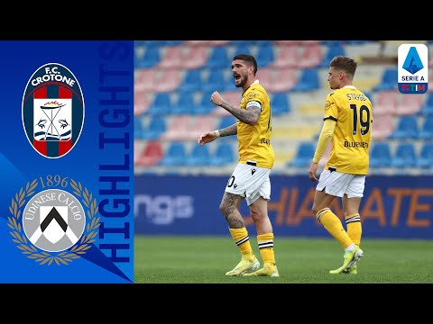 Crotone 1-2 Udinese | L'Udinese batte il Crotone in trasferta | Serie A TIM