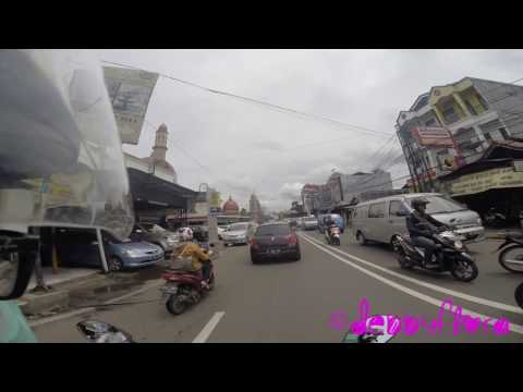Driving around in Depok, Indonesia 2017 (Full-HD)