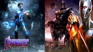 Avengers 4 Endgame Ultron Resurrection By Ironman Key To DEFEATING Thanos! Ironman And Cap Will Die