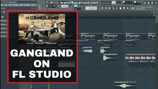 Gangland Karaoke instrumental in Fl studio Punjabi guru karaoke