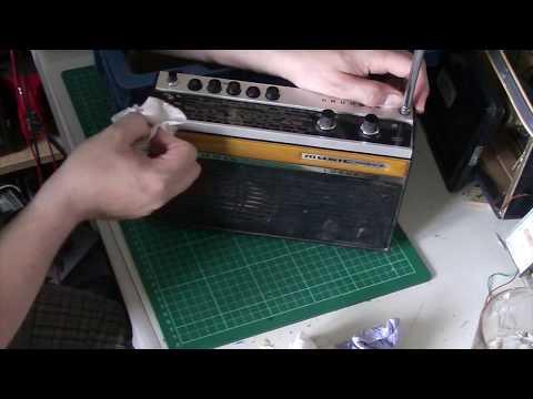 Bakers basket of radios: Grundig Music Boy Luxus 208