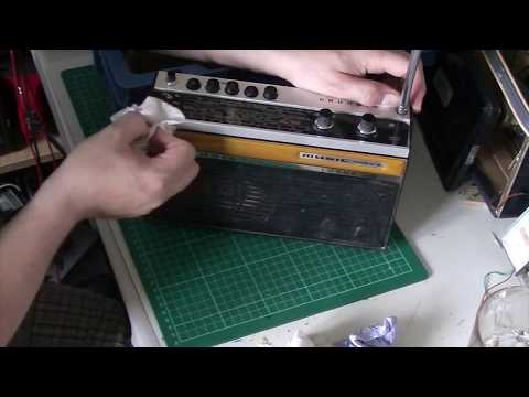 Bakers basket of radios: Grundig Music Boy Luxus 208