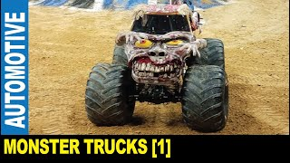 Monster Trucks [Part 1] Monster Jam trucks & drivers motorsport show   Jarek in Tampa Florida USA